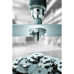 Bosch Endurance Serisi Ağır Metaller için TCT Delik Açma Testeresi (Panç) 44 mm - Thumbnail