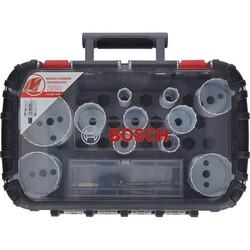 Bosch Endurance Serisi Karpit Delik Açma Testeresi (Panç) Seti 8 Parça Ø 20-22-25-32-35-40-44-51-60-64-76 mm - Thumbnail