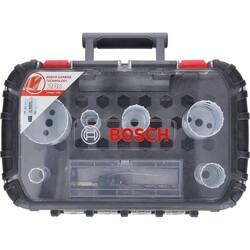 Bosch Endurance Serisi Karpit Delik Açma Testeresi (Panç) Seti 8 Parça Ø 22-25-35-40-51-68 mm - Thumbnail