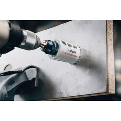 Bosch Endurance Serisi Zorlu Malzemeler için Karpit Delik Açma Testeresi (Panç) 25 mm - Thumbnail