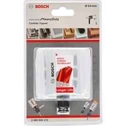 Bosch Endurance Serisi Zorlu Malzemeler için Karpit Delik Açma Testeresi (Panç) 54 mm - Thumbnail
