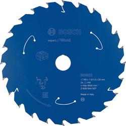 Bosch Expert for Serisi Ahşap için Akülü Daire Testere Bıçağı 165*20 mm 24 Diş - Thumbnail