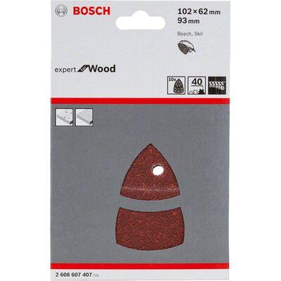 Bosch Expert for Serisi Ahşap Zımpara 102x62/93x93 mm 40 kum BOSCH