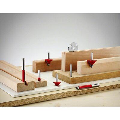 Bosch Expert Serisi Ahşap İçin Çift Bıçaklı, Tam Sert Metal Kanal Freze Ucu 8*5*51 mm BOSCH