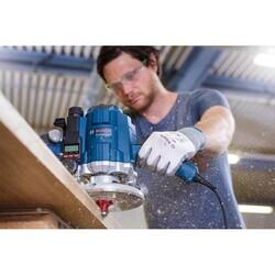 Bosch Expert Serisi Ahşap İçin Çift Oluklu, Sert Metal Bilye Yataklı Yuvarlama Frezesi 8*9,5*60mm - Thumbnail