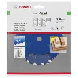 Bosch Expert Serisi Ahşap için Daire Testere Bıçağı 130*20 mm 16 Diş - Thumbnail