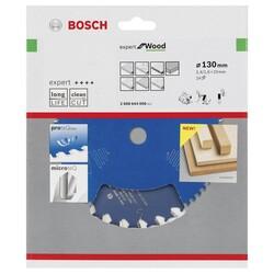 Bosch Expert Serisi Ahşap için Daire Testere Bıçağı 130*20 mm 24 Diş - Thumbnail