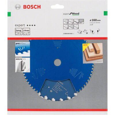 Bosch Expert Serisi Ahşap için Daire Testere Bıçağı 160*20 mm 24 Diş BOSCH