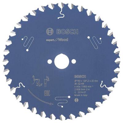 Bosch Expert Serisi Ahşap için Daire Testere Bıçağı 160*20 mm 36 Diş