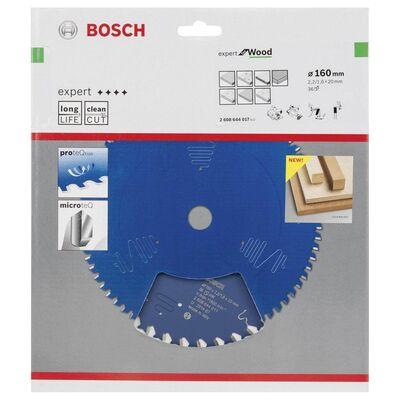 Bosch Expert Serisi Ahşap için Daire Testere Bıçağı 160*20 mm 36 Diş BOSCH