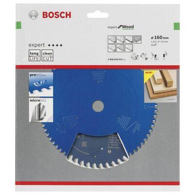 Bosch Expert Serisi Ahşap için Daire Testere Bıçağı 160*20 mm 48 Diş BOSCH