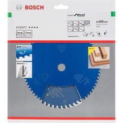 Bosch Expert Serisi Ahşap için Daire Testere Bıçağı 165*20 mm 48 Diş - Thumbnail