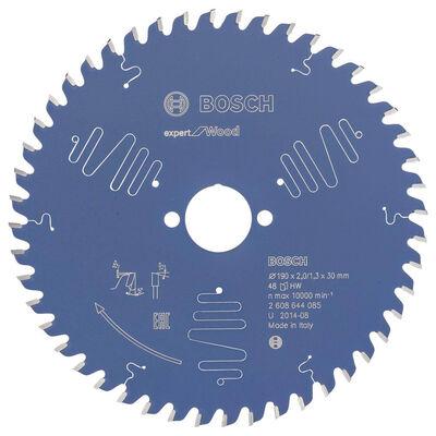 Bosch Expert Serisi Ahşap için Daire Testere Bıçağı 190*30 mm 48 Diş