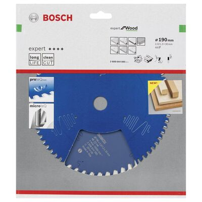 Bosch Expert Serisi Ahşap için Daire Testere Bıçağı 190*30 mm 48 Diş BOSCH