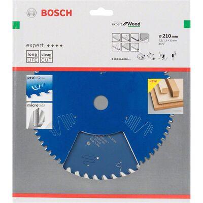 Bosch Expert Serisi Ahşap için Daire Testere Bıçağı 210*30 mm 48 Diş BOSCH