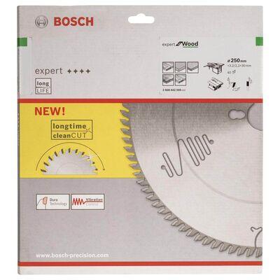 Bosch Expert Serisi Ahşap için Daire Testere Bıçağı 250*30 mm 40 Diş BOSCH