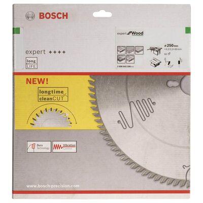 Bosch Expert Serisi Ahşap için Daire Testere Bıçağı 250*30 mm 60 Diş BOSCH