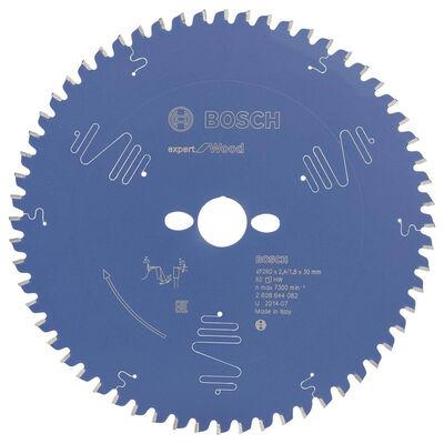 Bosch Expert Serisi Ahşap için Daire Testere Bıçağı 260*30 mm 60 Diş