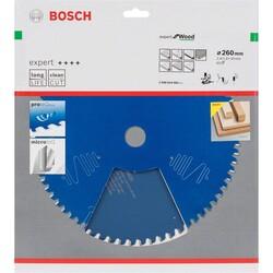 Bosch Expert Serisi Ahşap için Daire Testere Bıçağı 260*30 mm 60 Diş - Thumbnail