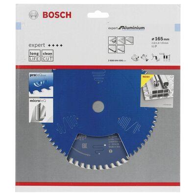 Bosch Expert Serisi Alüminyum için Daire Testere Bıçağı 165*20 mm 52 Diş BOSCH