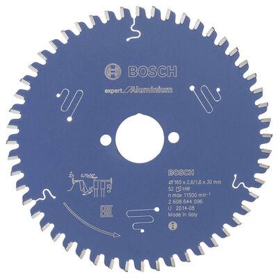 Bosch Expert Serisi Alüminyum için Daire Testere Bıçağı 165*30 mm 52 Diş