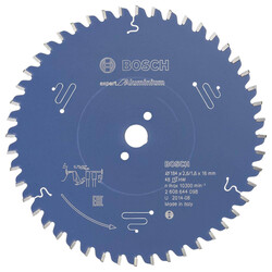 Bosch Expert Serisi Alüminyum için Daire Testere Bıçağı 184*16 mm 48 Diş - Thumbnail