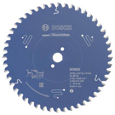 Bosch Expert Serisi Alüminyum için Daire Testere Bıçağı 184*16 mm 48 Diş