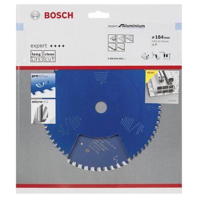 Bosch Expert Serisi Alüminyum için Daire Testere Bıçağı 184*20 mm 56 Diş BOSCH