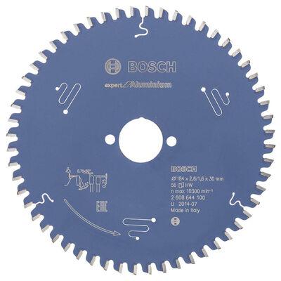 Bosch Expert Serisi Alüminyum için Daire Testere Bıçağı 184*30 mm 56 Diş