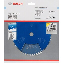 Bosch Expert Serisi Alüminyum için Daire Testere Bıçağı 184*30 mm 56 Diş - Thumbnail