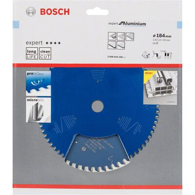 Bosch Expert Serisi Alüminyum için Daire Testere Bıçağı 184*30 mm 56 Diş BOSCH