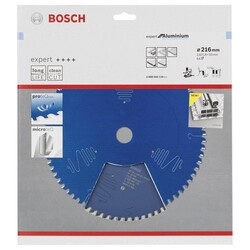 Bosch Expert Serisi Alüminyum için Daire Testere Bıçağı 216*30 mm 64 Diş - Thumbnail