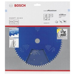 Bosch Expert Serisi Alüminyum için Daire Testere Bıçağı 235*30 mm 80 Diş - Thumbnail