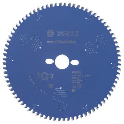 Bosch Expert Serisi Alüminyum için Daire Testere Bıçağı 250*30 mm 80 Diş