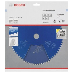 Bosch Expert Serisi Alüminyum için Daire Testere Bıçağı 250*30 mm 80 Diş - Thumbnail