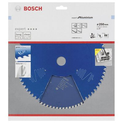Bosch Expert Serisi Alüminyum için Daire Testere Bıçağı 250*30 mm 80 Diş BOSCH
