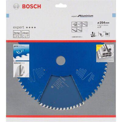 Bosch Expert Serisi Alüminyum için Daire Testere Bıçağı 254*30 mm 80 Diş BOSCH
