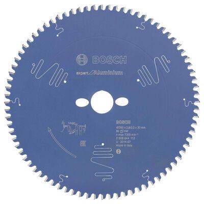 Bosch Expert Serisi Alüminyum için Daire Testere Bıçağı 260*30 mm 80 Diş