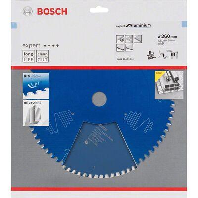 Bosch Expert Serisi Alüminyum için Daire Testere Bıçağı 260*30 mm 80 Diş BOSCH
