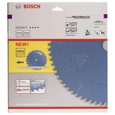 Bosch Expert Serisi Çoklu Malzeme için Daire Testere Bıçağı 216*30 mm 64 Diş BOSCH