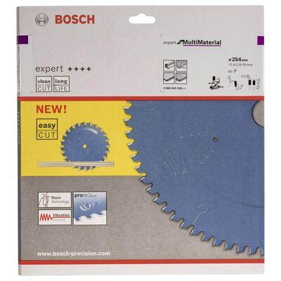 Bosch Expert Serisi Çoklu Malzeme için Daire Testere Bıçağı 254*30 mm 80 Diş BOSCH