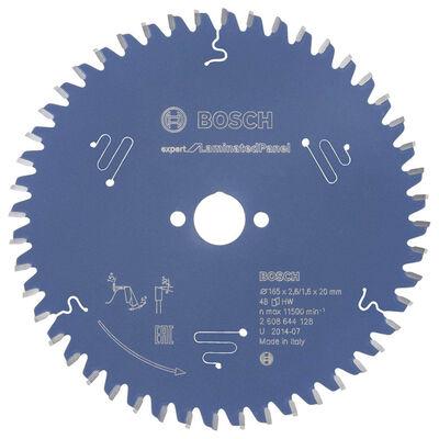 Bosch Expert Serisi Lamine Panel için Daire Testere Bıçağı 165*20 mm 48 Diş