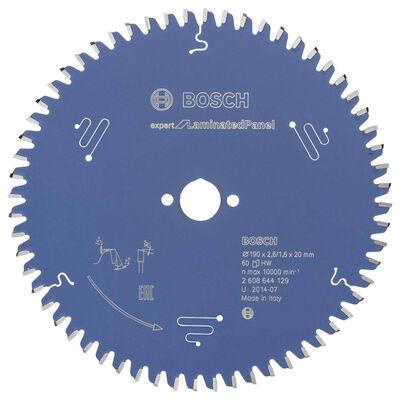 Bosch Expert Serisi Lamine Panel için Daire Testere Bıçağı 190*20 mm 60 Diş