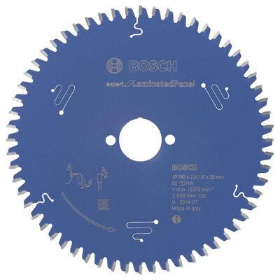 Bosch Expert Serisi Lamine Panel için Daire Testere Bıçağı 190*30 mm 60 Diş