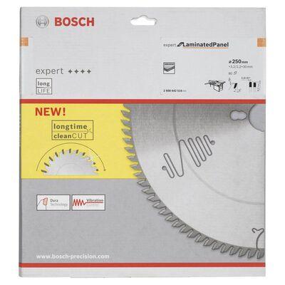 Bosch Expert Serisi Lamine Panel için Daire Testere Bıçağı 250*30 mm 80 Diş BOSCH