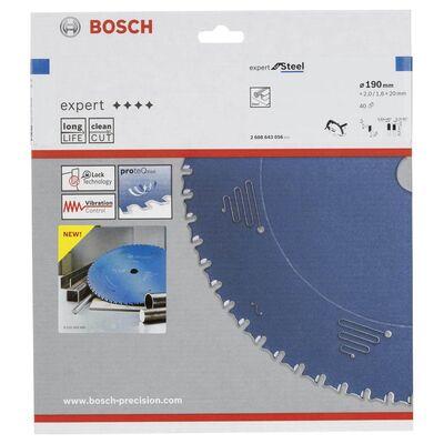 Bosch Expert Serisi Metal için Daire Testere Bıçağı 190*20 mm 40 Diş BOSCH