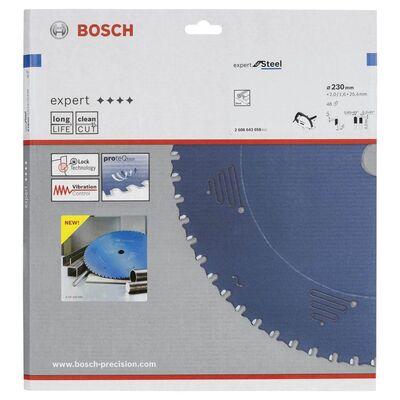 Bosch Expert Serisi Metal için Daire Testere Bıçağı 235*25,40 mm 48 Diş BOSCH