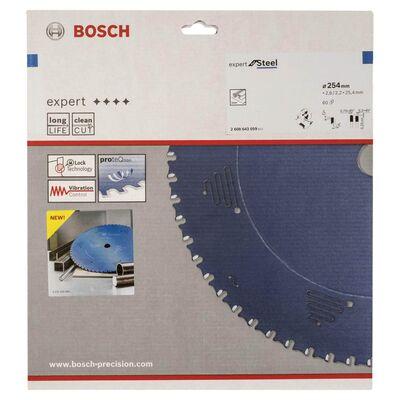 Bosch Expert Serisi Metal için Daire Testere Bıçağı 254*25,40 mm 60 Diş BOSCH