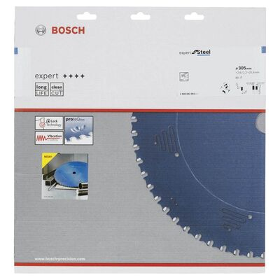 Bosch Expert Serisi Metal için Daire Testere Bıçağı 305*25,40 mm 80 Diş BOSCH