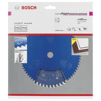Bosch Expert Serisi Yüksek Basınçlı Lamine Panel ve Trespa için Daire Testere Bıçağı 165*20 mm 48 Diş BOSCH